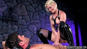 Ash hollywood and lance hart femdom cbt banging castration