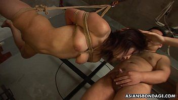 Nasty girl, kana sato got fastened up and throatfucked