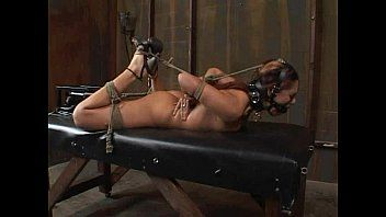 Satine phoenix - flawless bondman hogtied and stuffed 02/25/2007